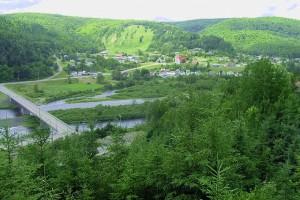 Attraits touristiques du Belvédère des Deux Rivières