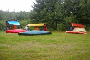 Camping sur la Upsalquitch